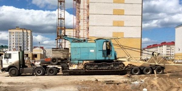 способы транспортировки крана РДК-400