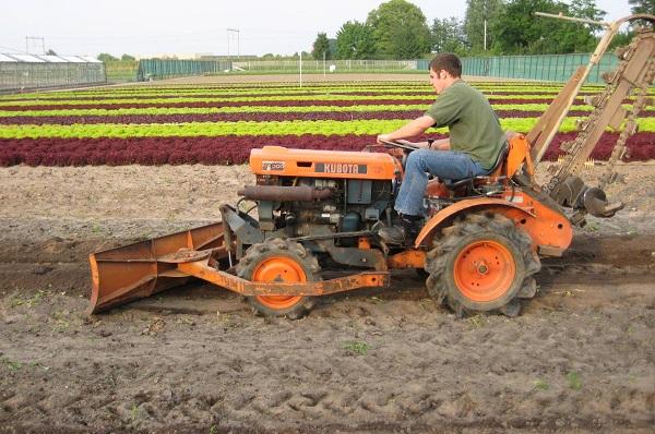 области эксплуатации мини-трактора