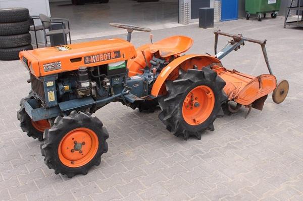 подробное описание мини-трактора Kubota b6000
